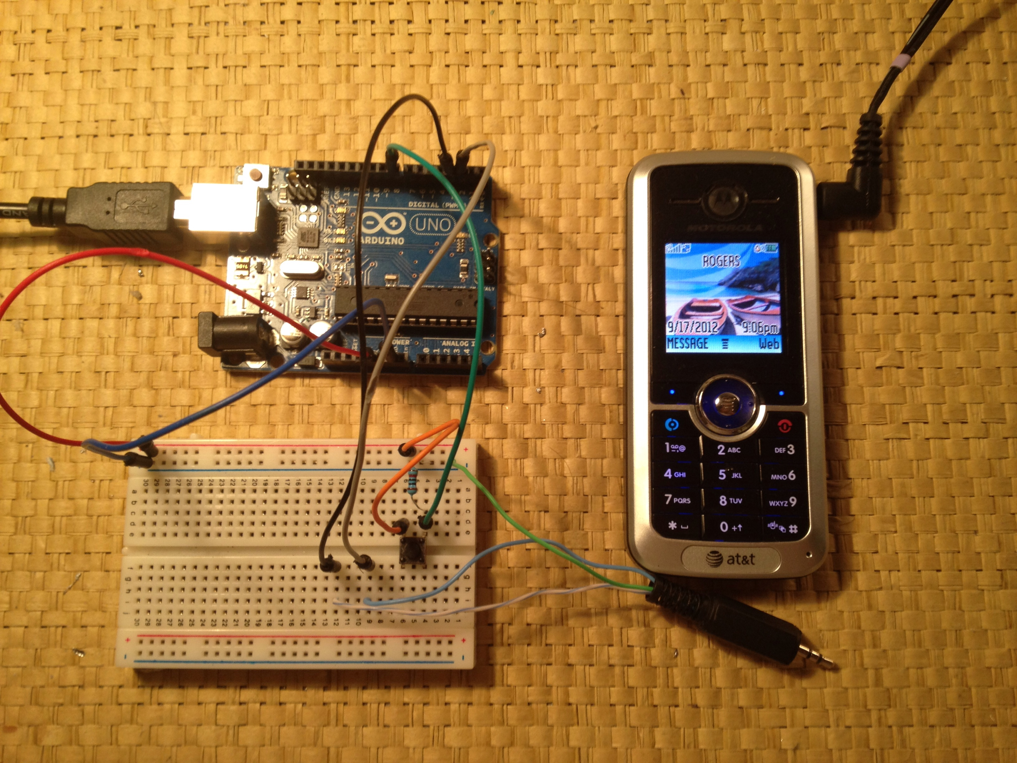 tutorial send sms from your arduino using an old motorola cell what